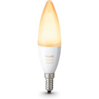 White ambiance Losse kaarslamp E14